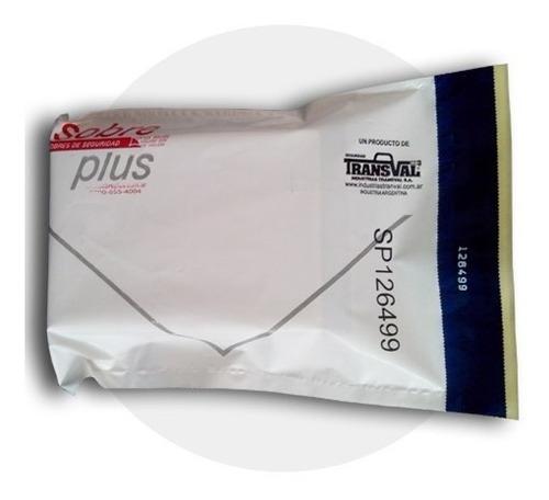 Sobres/bolsas Inviolables X 100 U. Carta De 17x25 Cm