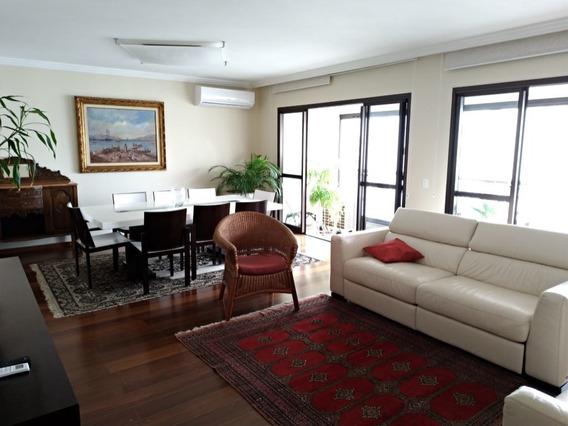 Lindo Apartamento No Campo Belo, Semi-mobiliado, Com Quatro Suítes - 345-im327667