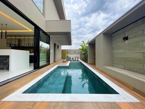 Casa No Condomínio Quinta Do Golfe Com 5 Quartos E 4 Vagas - V7138