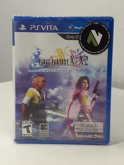Final Fantasy X/x2 Hd Remaster Original Americano Lacrado
