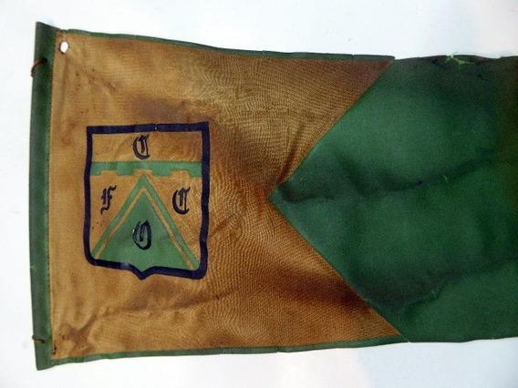 Banderin Club Ferrocarril Oeste 17 X 40cm Argentina 1980