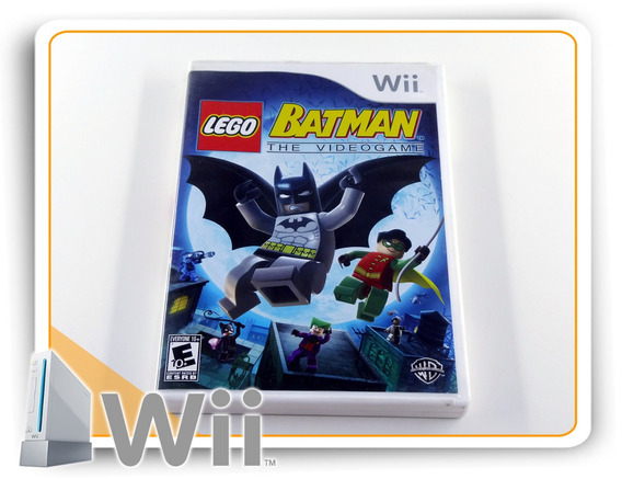 Lego Batman The Videogame Original Nintendo Wii
