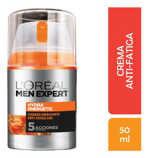 Crema Para Hombre Anti-fatiga, Men Expert Loreal, 50 Ml