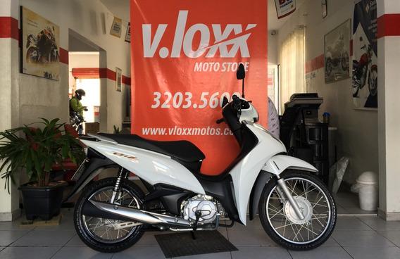 Honda Biz 110 I Es Branca 2018