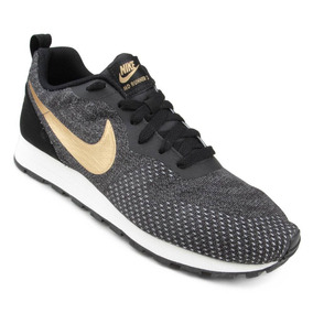 Tênis Masculino Nike Md Runner 2 Eng Mesh Pr/cz Original