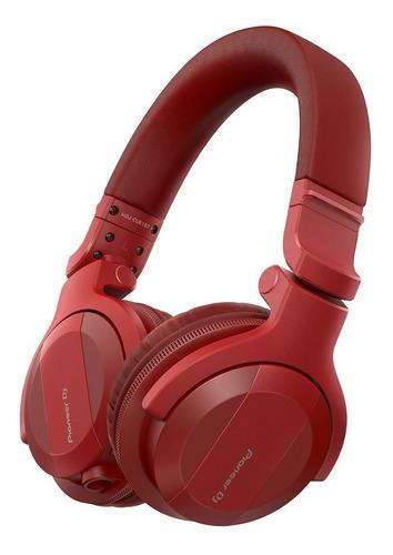 Imagem 1 de 4 de Fone De Ouvido Pioneer Dj Hdj Cue1bt-r Bluetooth C/ Nf
