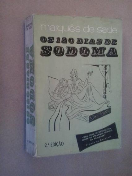 Livro: Os 120 Dias De Sodoma: Marquês De Sade: