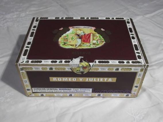 Caja De Habanos Vacia Romeo Y Julieta