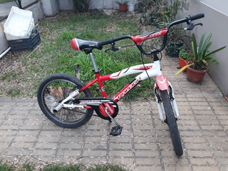 Bicicleta Aluminio Raleigh Kids Roja