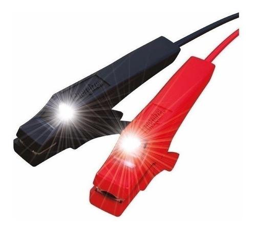 Imagen 1 de 9 de Cable Puente De Arranque Bateria Energizer Pinzas Luces Led