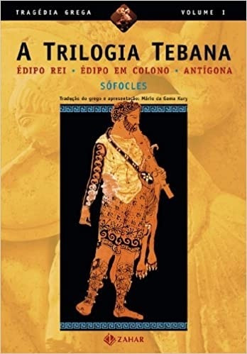Livro Trilogia Tebana, A (édipo Rei Sófocles
