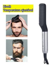Prancha Elétrico Bivolt Chapinha Para Barba E Cabelo