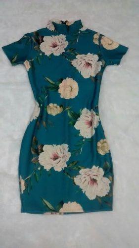 Vestido Feminino Evangélico Midi Tubinho Neoprene - Moda Feminina - Roupas - Promoção - Barato