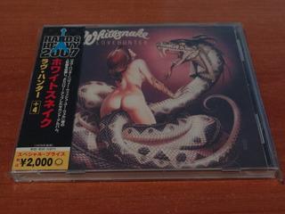 Whitesnake Lovehunter Cd Japones 2007 4 Bonus Tracks