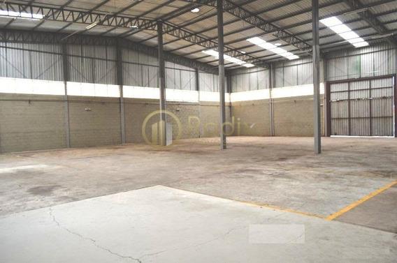 Galpão Industrial, Próximo Raposo Tavares E Ao Rodoanel. - Rx9851