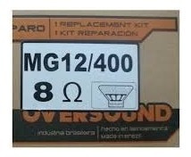 02 Reparo Original Mg 12 400 Oversound 8 Ohms