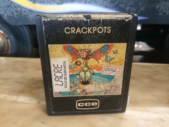 Cartucho De Atari Jogo Crackpots Antigo Ñ Consoles 2035