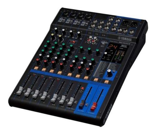 Consola Mixer Yamaha Mg10xuf 10 Canales Faders  - Cuotas