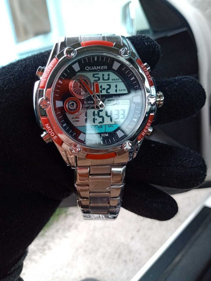 Relógio Masculino Quamer Original Promoção
