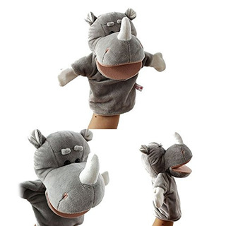Marionetas De Mano,baidecor Rhino Hand Puppets Juguetes ..