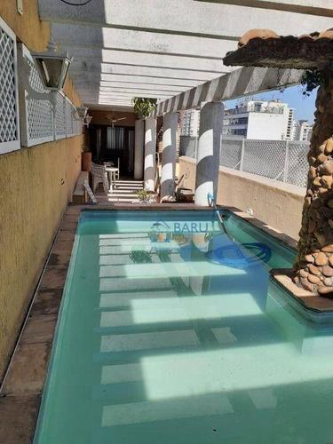 Imagem 1 de 30 de Cobertura Com 4 Dormitórios Para Alugar, 400 M² - Higienópolis - São Paulo/sp - Co2613