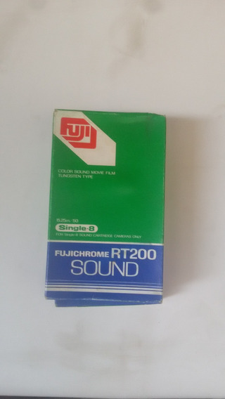 Filme Single-8 Fujichrome Rt200 Sound