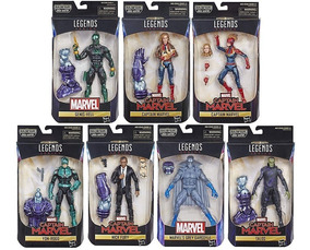 Legends Captain Marvel Wave Baf Kree Sentry Capitã Nick Fury