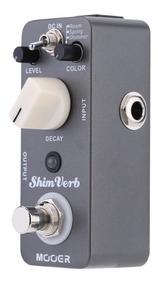 Pedal De Efeito De Reverb Digital Mini Micro Mooer Shim