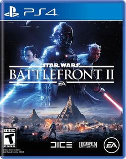 Star Wars Battlefront 2 - Ps4 -juego Fisico - Megagames