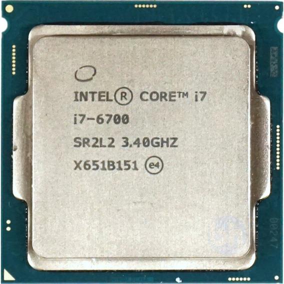 Processador Intel I7 - 6700 / 3.4ghz- 6ª Geração - Novo!