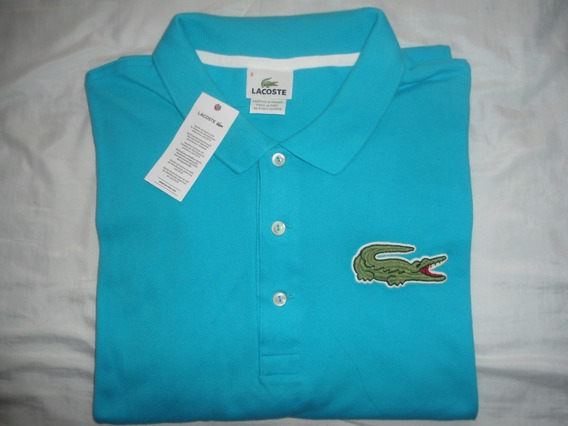 Increible Polo Lacoste Big Blue 100% Original