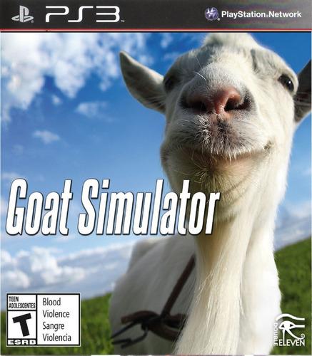 Goat Simulator Juego Ps3 Original + Español
