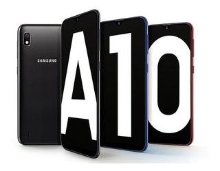 Samsung Galaxy A10 Forro + Vidrio Incluido Tienda Fisica!