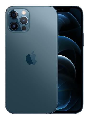 Celular Smartphone Apple iPhone 12 Pro 256gb Azul - Dual Chip