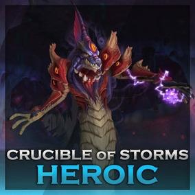 World Of Warcraft Rush Caldeirão Das Tempestades Heroico Wow