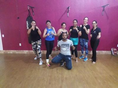 Aulas De Muay Thai Fitness, Individual Ou Em Grupo.