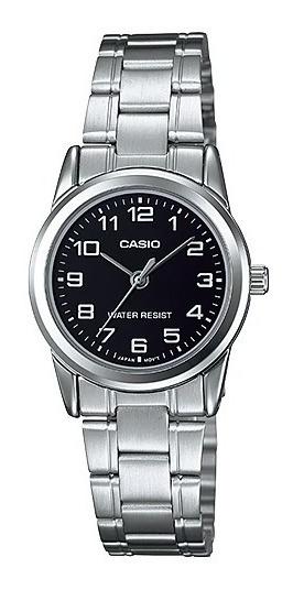 Relógio Casio Feminino Analógico Collection Fundo Preto