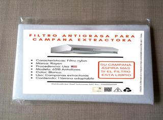 Filtro Nylon Para Campana Extractora X 1u - Todas Las Marcas