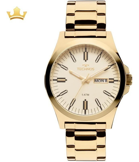 Relógio Technos Masculino 2305ay/4x Com Nf