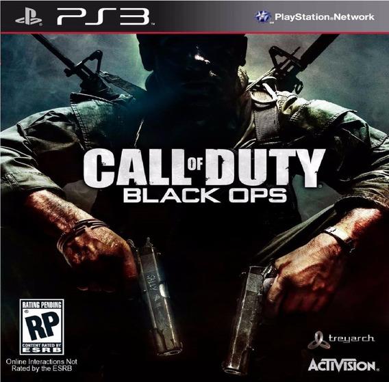Game Play3 - Call Of Duty Black Ops - Semi-novo Jogo Ps3