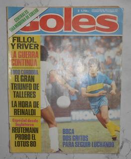 Revista Goles 3 De Abril 1979 Larry Holmes Reutemann Fillol