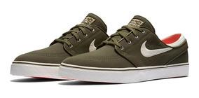 Tênis Nike Stefan Janoski Canvas 615957-303 Verde Original