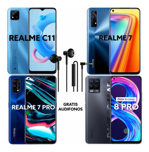 Realme C11 $115 / Realme 7 $199 - 7 Pro $305 / 8 Pro $329