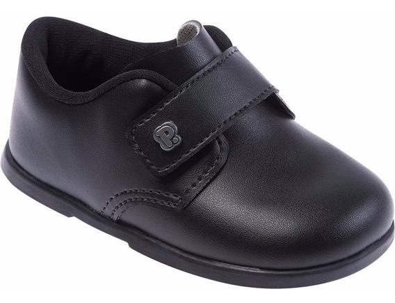 Sapato Social Infantil Masculino Preto Pimpolho 27129c