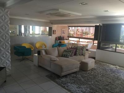 Apartamento Em Torre, Recife/pe De 197m² 4 Quartos À Venda Por R$ 1.390.000,00 - Ap171913