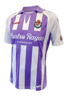 Camisa Real Valladolid Home 18/19 Alcaraz 14 Envio Imediato