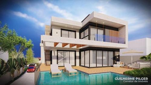 Imagem 1 de 6 de Casa No Condomínio Green Ocean Na Praia Do Estaleirinho Em Balneário Camboriú - 174_1