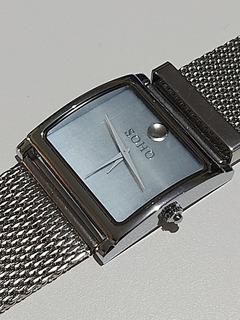 Reloj Soho Original Análogo Quartz Malla Tejida Ancha