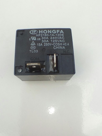 Rele Hongfa Hf2160 1a 12de 30a 250vat 2 Pçs