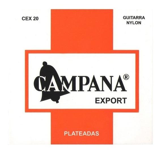 Encordado Guitarra Clasica Campana Cex20 Export